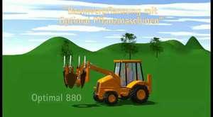 Farmi CH380HFC Ağaç Öğütücü