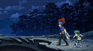 Beyblade Metal Fusion 12. Bölüm (Dark Nebula'nın Kalesine Sızma)