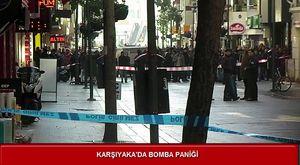Karşıyaka'da bomba paniği