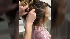 Saç Maşasıyla Su Dalgası Nasıl Yapılır