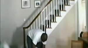 Arsız hırsız ev sahibini dövdü