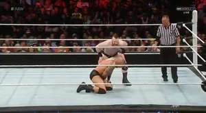 Roman Reigns & Dean Ambrose vs. Bray Wyatt & Luke Harper(The Wyatt Family) [24.08.2015]