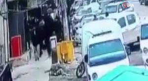 Ankara'da yüklü kamyonet üzerinde tehlikeli yolculuk