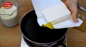 Tavada Gravyer Peynirli Omlet