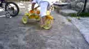 Burak'tan Bisiklet şov...