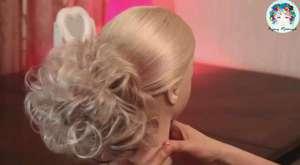 Yuvarlak Fiyonklu Kuyruk Saç - Pratik Günlük Saç Modeli