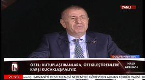 Ümit Özdağ: Saraya Karşı Türk Halkı ile Birlikte Mücadele Ediyoruz - İzleyiniz