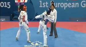 80kg Arman YEREMYAN (ARM) vs (TUR) SARI Yunus (Baku 2015)