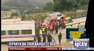 77 kişinin öldüğü kazanın görüntüleri