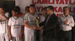 Çamlıyayla Kaymakamlığı Kurumlar Arası Futbol Turnuvası Finali