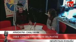O Ses Türkiye Yarışmacısı Selin Ataş Armonifm Negro Show Konuğu(360p_H