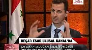 Beşşar El-Esad Ulusal Kanal Röportajı