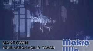 Açılır cam_Polikarbon Tavan
