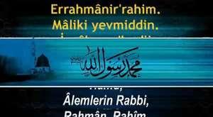 Fatiha Suresi Kabe İmamından Arapça Okunuşu ve Türkçe Anlamı | www.ruhunarahmet.com