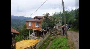Yavaş Köyü'nde Sel