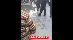 Tarsus Berdan Barajı'nda tehlikeli atlayış