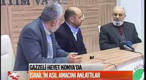 Gazzeli Heyet Konya'da