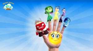 Tersyüz Parmak ailesi ingilizce/ inside out finger family nursery rhymes