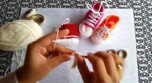convers bebek patik taban yapımı