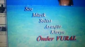 ÖNDER VURAL'DAN YABANCI BİR ŞARKI