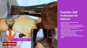 PowerStar 3000 Profesyonel Fön Makinası | www.powerstar.com.tr | 0216 606 32 82