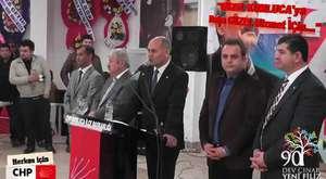 Kumluca Muhtarları ile Antalya Belediye Başkanı ve İl İlçe Chp Yönetimi