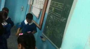 i sesi sınıfta oynuyoruz