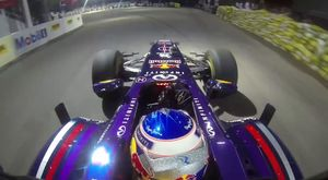 Onboard pole position lap - Singapore