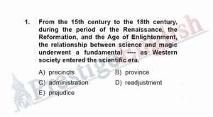 YDS Deneme Sınavı-Soru 01