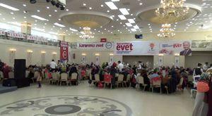 AK Parti İl Kadın Kollarının geniş katılımla gerçekleştirdiği toplantı