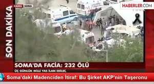 Bakan Taner Yıldız, Soma'daki bir madenin açılışını yapmıştı