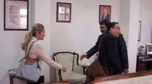 Huque, Vali Şahin'i ziyaret etti 2