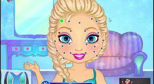 Prenses elsa boyama