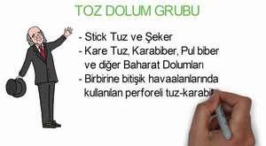 Tek Kullanımlık Karabiber Dolumu (Kare)  - Diyaroğlu
