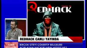 RedHack Ulusal Kanal ekranından AKP yi uyardı  O bilgileri açıklarız