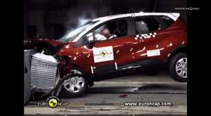 2013 Renault CAPTUR Crash Test