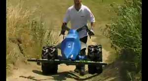 Chariot for Two Wheel Tractor Demo by Tracmaster UK