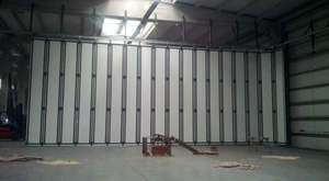 Malatya Hangar Kapısı Test