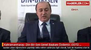 Din-Bir-Sen Genel Başkanı Yusuf Özdemir