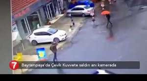 Bayrampaşa'da Polise Saldırı !