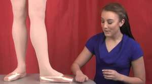 Fitting Gaynor Minden Pointe Shoes  Section 1