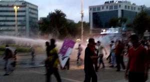 Silivri'de öfke gazı,nefret yağmuru
