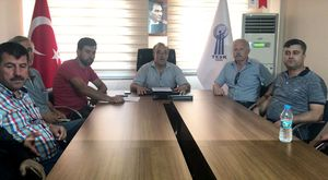 AK Parti Belediye Başkan Adayları Hüseyin Tanrıverdi ve Salih Hızlı Dağdere Ziyareti