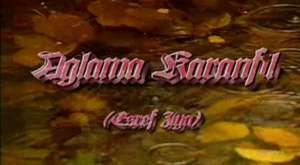 Ağlama karanfil Eşref Ziya Terzi - YouTube