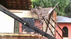 Udupi: Roof of primary school in Tonse collapses in heavy rain