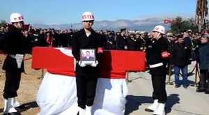 Afrin Şehidi Uzman Çavus Ali Gümüş son yolcuğuna uğurlandı