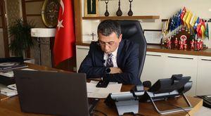 MHP adayı Prof. Mevllüt Karakaya'yı Gölbaşılılar böyle uğurladı