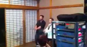 Hugh Jackman X-Men and PSY Dancing - Gangnam