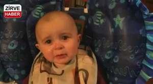 Annesi Şarkı Söylerken Duygulanan Bebek :)