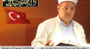Hafız Ümit Aydın / Yeraltı Camii İmam Hatibi & Cuma Vaazı